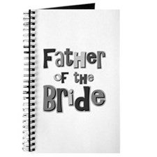 Father of the Bride Wedding Party Journal