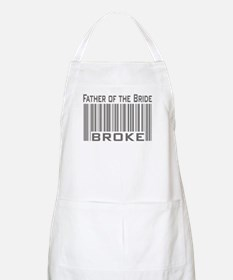 Funny Father of the Bride Broke BBQ Apron