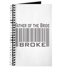 Funny Father of the Bride Broke Journal
