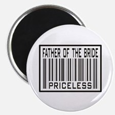 """Father of the Bride Priceless Wedding 2.25"""" Magnet"""