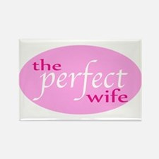 The Perfect Wife Rectangle Magnet (10 pack)