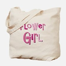 Flower Girl Wedding Party Tote Bag