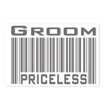 Groom Priceless Postcards (Package of 8)