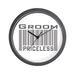 Groom Priceless Wall Clock