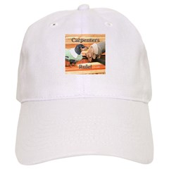 Carpenters Dachshund Dogs Baseball Cap