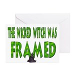 The Wicked Witch Was Framed Greeting Cards (10pk.)