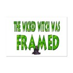 The Wicked Witch Was Framed Mini Poster Print