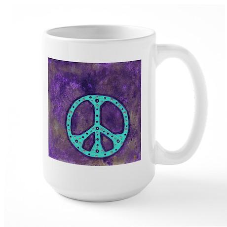 Purple Peace - Large Mug