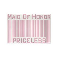 Maid of Honor Priceless Rectangle Magnet
