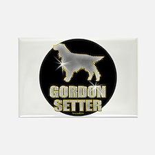 Bling Gordon Rectangle Magnet (10 pack)