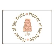 Mother of the Bride Cake Banner