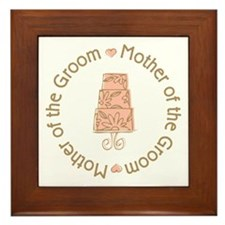 Mother of the Groom Cake Framed Tile