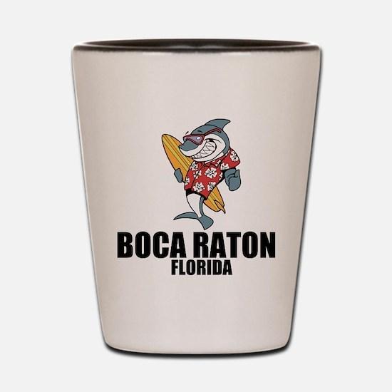 Boca Raton, Florida Shot Glass