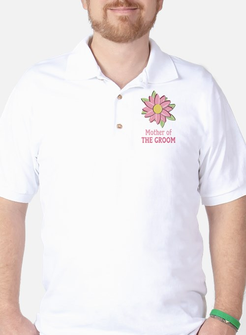 Pink Spring Flower Mother of the Groom T-Shirt