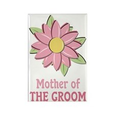Pink Spring Flower Mother of the Groom Rectangle M
