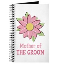 Pink Spring Flower Mother of the Groom Journal