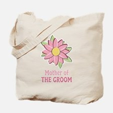 Pink Spring Flower Mother of the Groom Tote Bag
