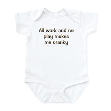 CW All Work Infant Bodysuit