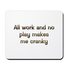 CW All Work Mousepad