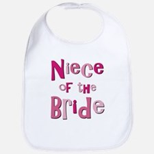 Niece of the Bride Wedding Bib
