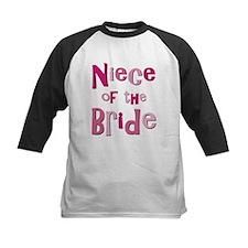 Niece of the Bride Wedding Tee