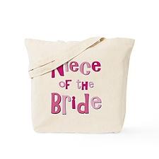 Niece of the Bride Wedding Tote Bag