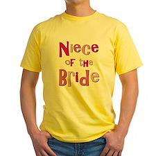 Niece of the Bride Wedding T