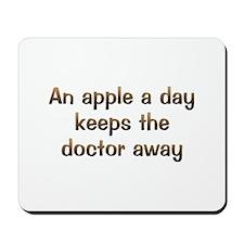 CW Apple A Day Mousepad