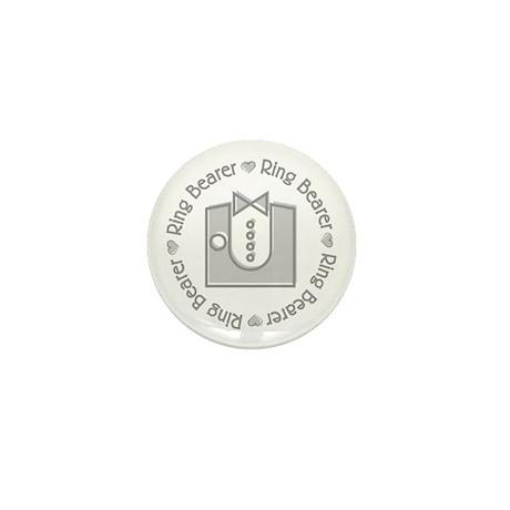 Ring Bearer Tuxedo Mini Button (100 pack)