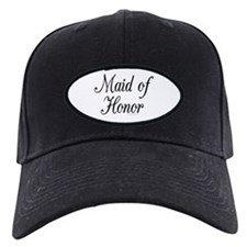 """Maid of Honor"" Baseball Hat"