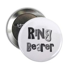 "Ring Bearer Wedding Party 2.25"" Button (10 pack)"