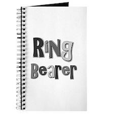 Ring Bearer Wedding Party Journal