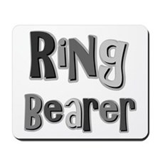 Ring Bearer Wedding Party Mousepad