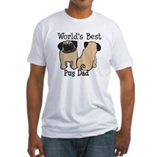 World's Best Pug Dad Shirt