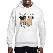World's Best Pug Dad Hoodie