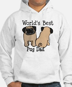 World's Best Pug Dad Hoodie