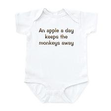 CW Apple A Day Infant Bodysuit