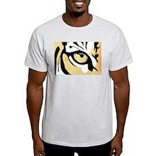 Tiger Eye Ash Grey T-Shirt