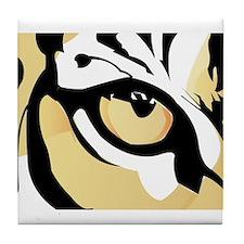 Tiger Eye Tile Coaster