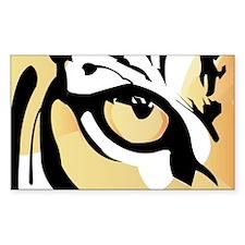 Tiger Eye Rectangle Decal