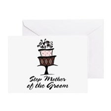 Groom Step Mother Wedding Party Greeting Card