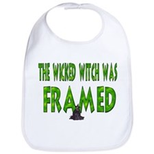 The Wicked Witch Was Framed Bib