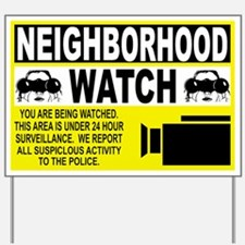 Neighborhood Watch Yard Sign