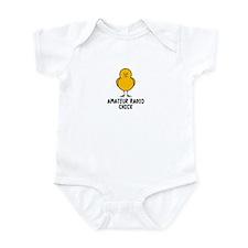 Amateur Radio Chick Infant Bodysuit