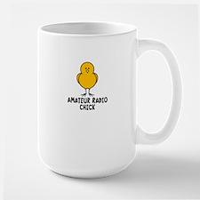 Amateur Radio Chick Large Mug