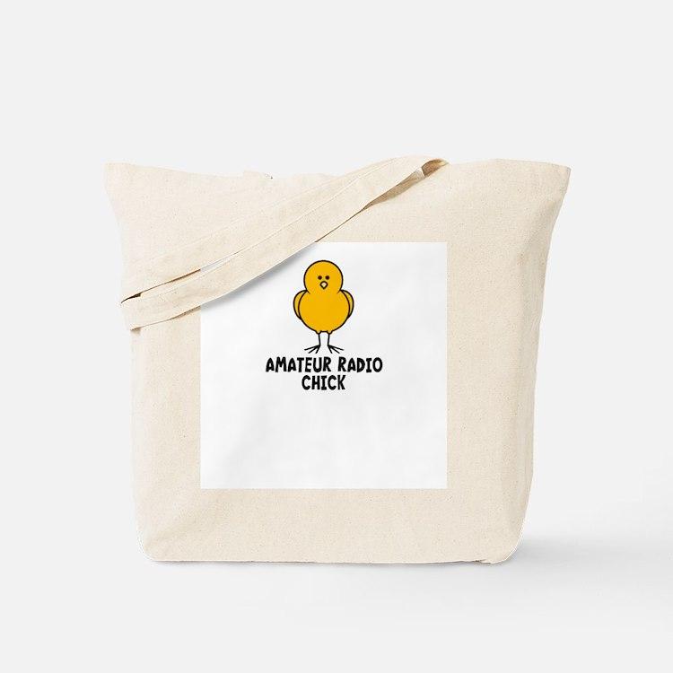 Amateur Radio Chick Tote Bag