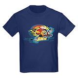 Bmx Kids T-shirts (Dark)