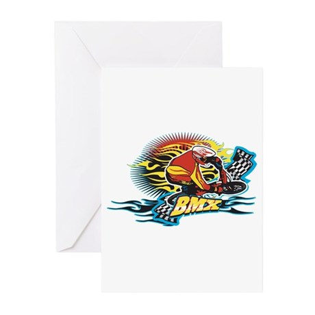 Tribal BMX Greeting Cards (Pk of 20)