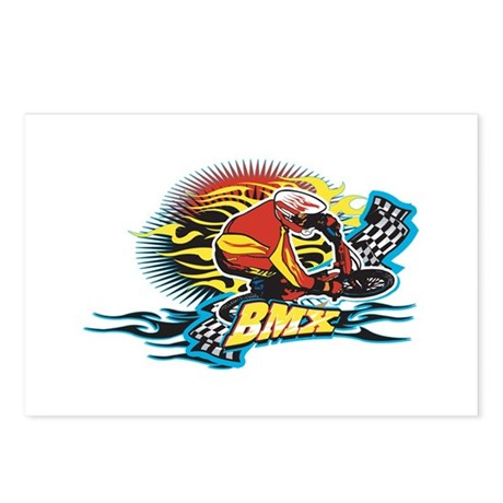 Tribal BMX Postcards (Package of 8)