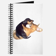 Yin Yang Color Dachshunds Journal